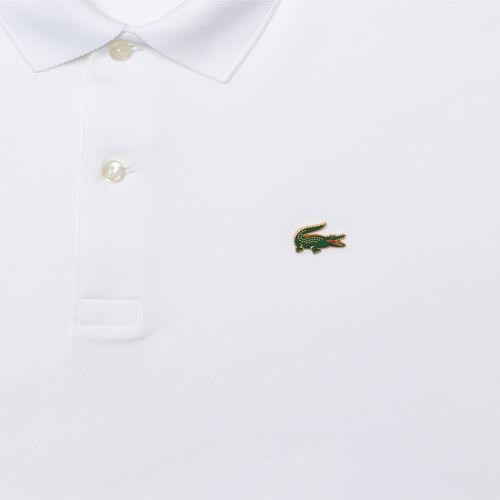 قميص بولو من بيكيه القطن المرن قصة اعتيادية مجموعة Lacoste Live للجنسين