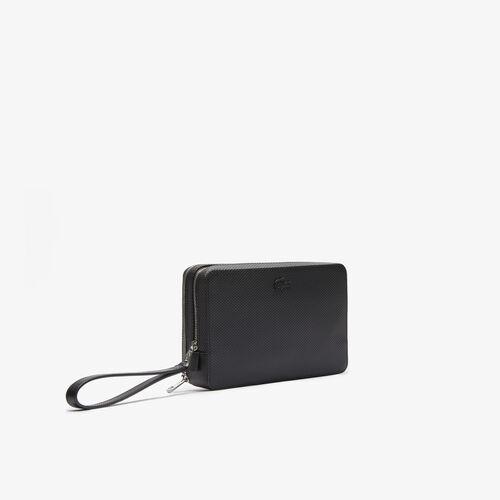 محفظة جراب بسحاب من جلد البيكيه مجموعة Chantaco للرجال