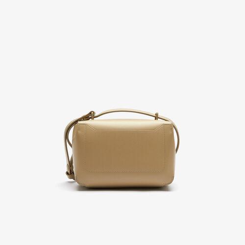 حقيبة يد نسائية جلد Amelia بقفل معدني منقوش