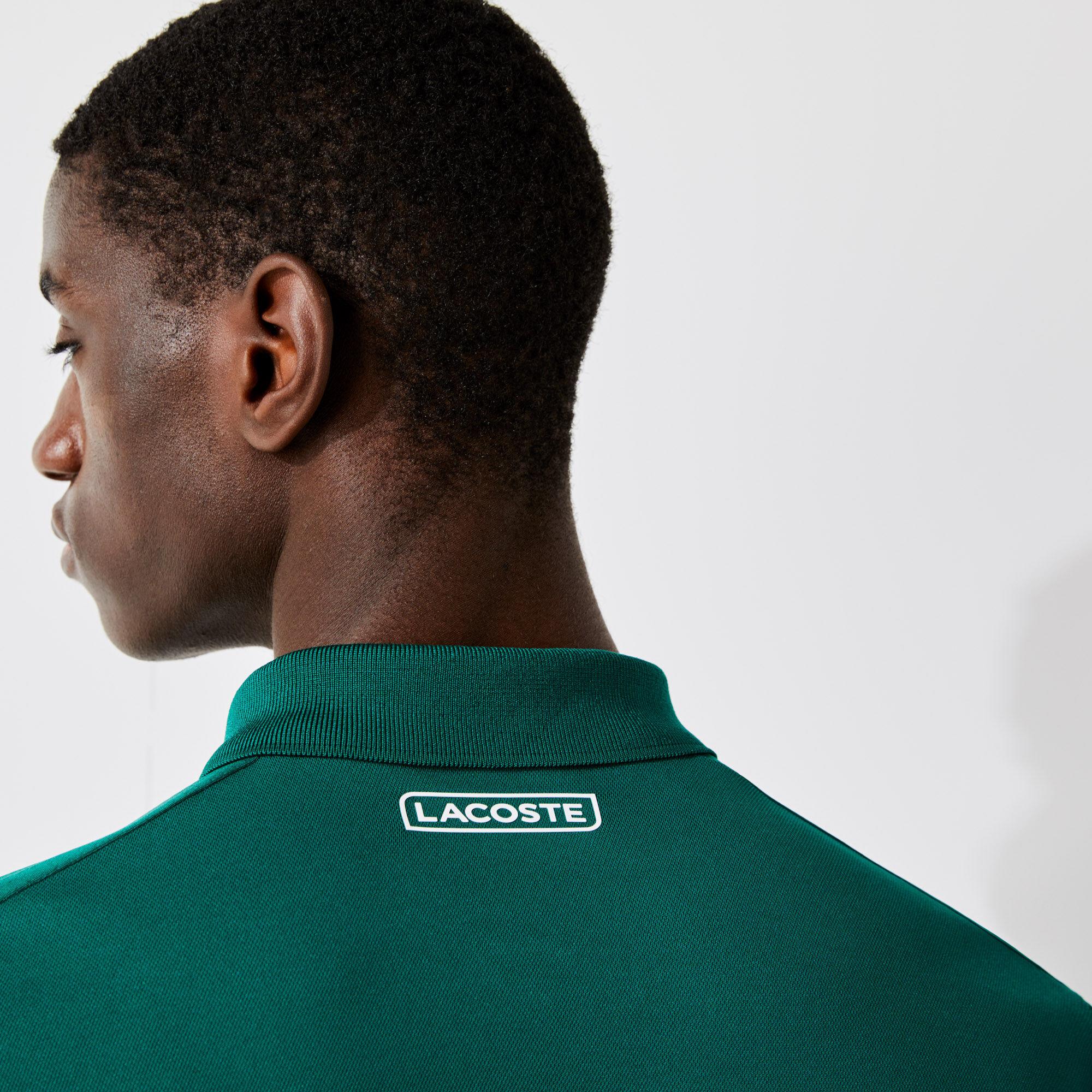 Men's Lacoste SPORT Breathable Resistant Piqué Tennis Polo Shirt