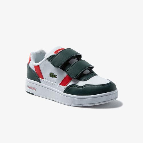 Infants' T-clip Synthetic Colour-pop Sneakers