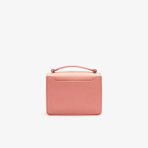حقيبة كتف نسائية Lcst مربعة الشكل من القماش