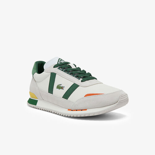 Men's Partner Retro Leather And Suede Sneakers