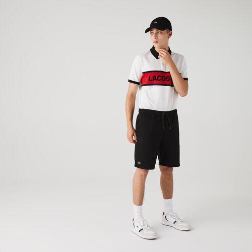 شورت من الصوف لرياضة التنس للرجال من مجموعة Lacoste Sport