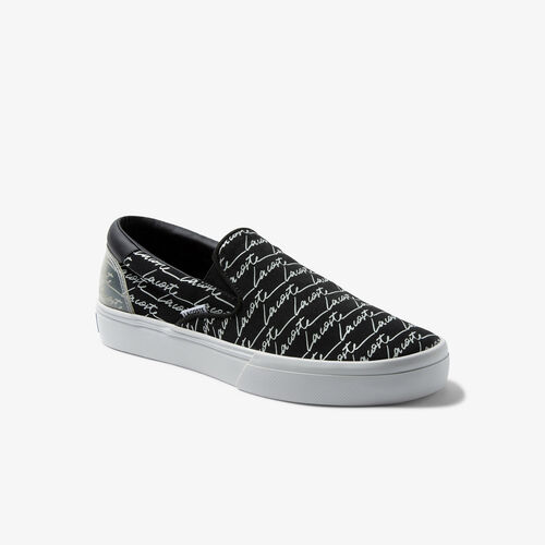 Men's Jump Serve Slip Canvas And Synthetic Sneakers