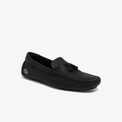 حذاء القيادة الجلدية للرجال من Piloter Tassel