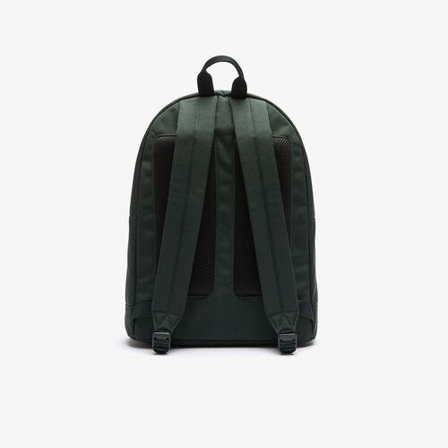 حقيبة ظهر للرجال من قماش Neocroc بحروف من القماش الكتاني