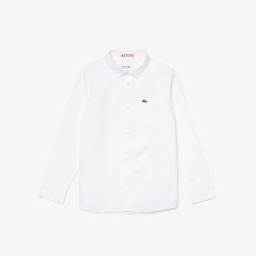قميص قطني خفيف مع جيب للأولاد