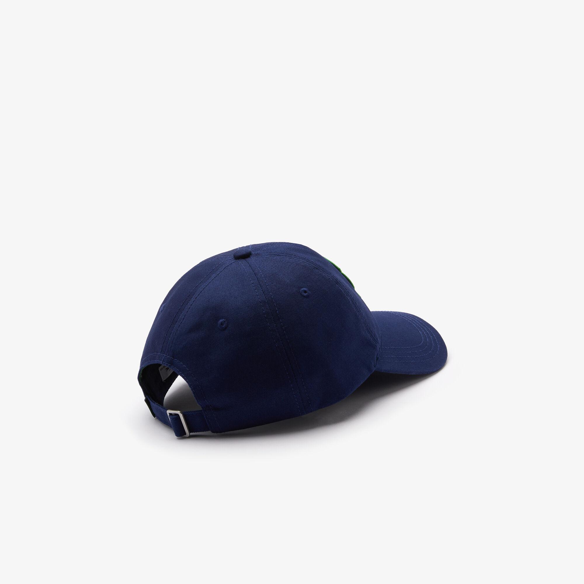 Men's Badge Cotton Cap