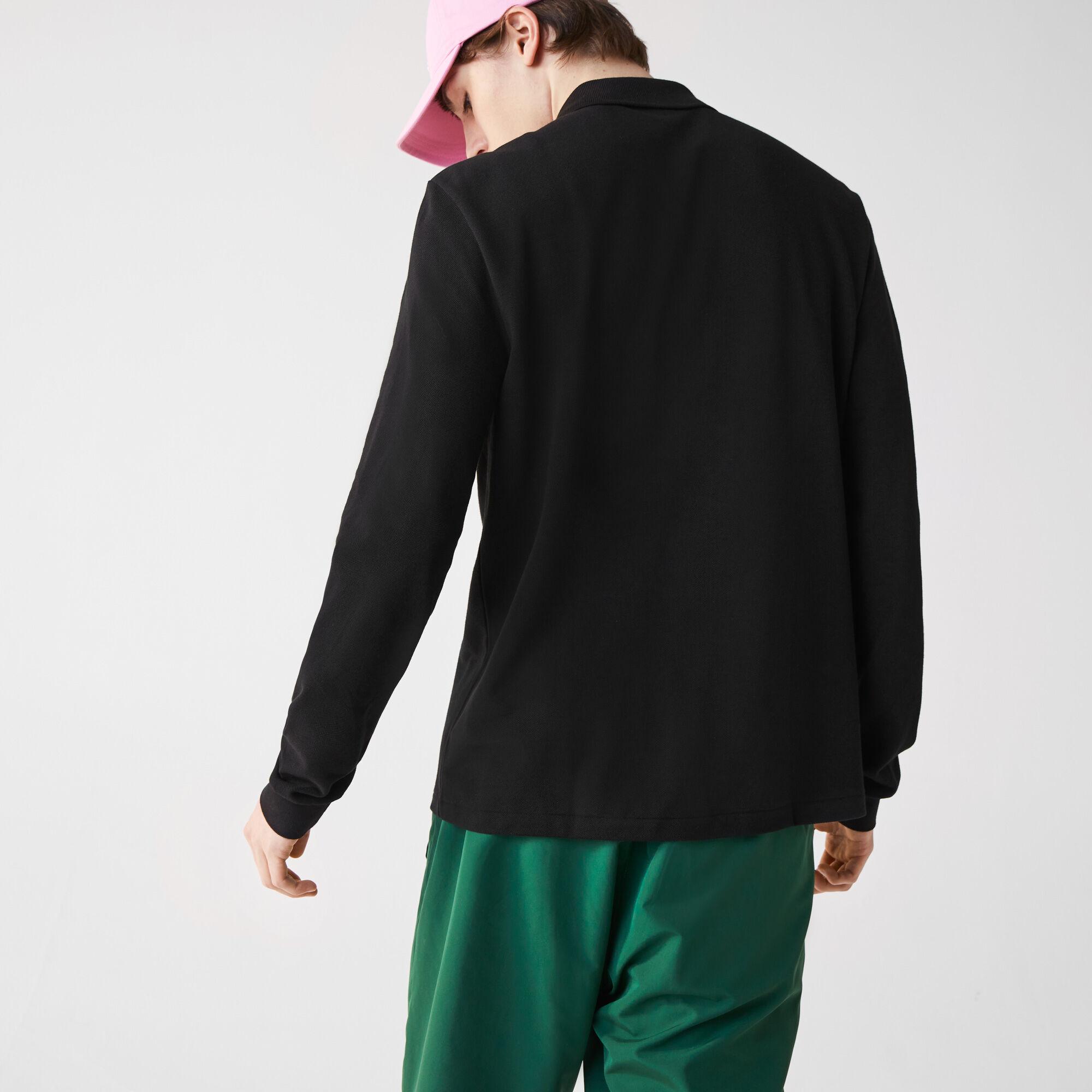 قميص بولو طويل الأكمام قصة كلاسيكية من مجموعة L.12.12