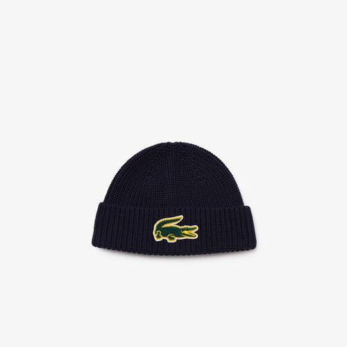 قبعة من الصوف والقطن بشارة التمساح للأولاد