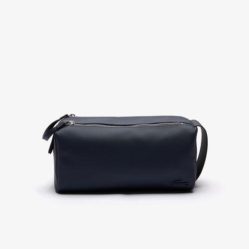 حقيبة صغيرة للرجال لأغراض العناية الشخصية بسحابين من البيتي بيكيه بتصميم كلاسيكي