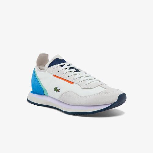 حذاء رياضي نسائي من النسيج والشمواه