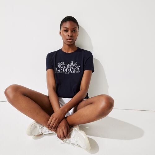 Women's Lacoste Sport Graphic Print Tennis T-shirt
