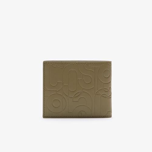 محفظة جلدية صغيرة منقوشة للرجال من مجموعة Fitzgerald