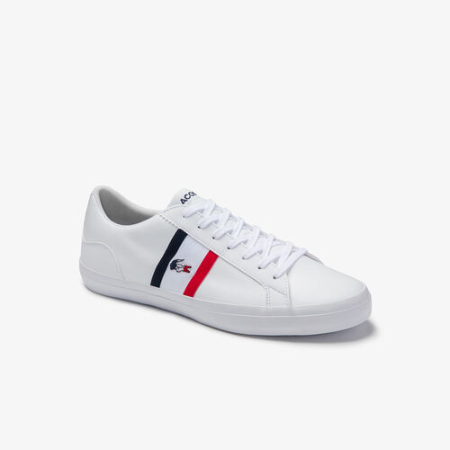 Men's Lerond Tricolore Leather And Synthetic Trainers