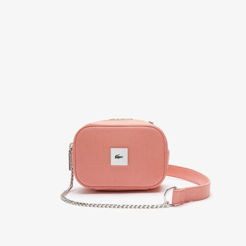 حقيبة كتف نسائية صغيرة الحجم من قماش Lcst