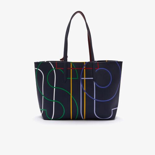 حقيبة تسوق كبيرة للنساء Anna من القماش بسحاب