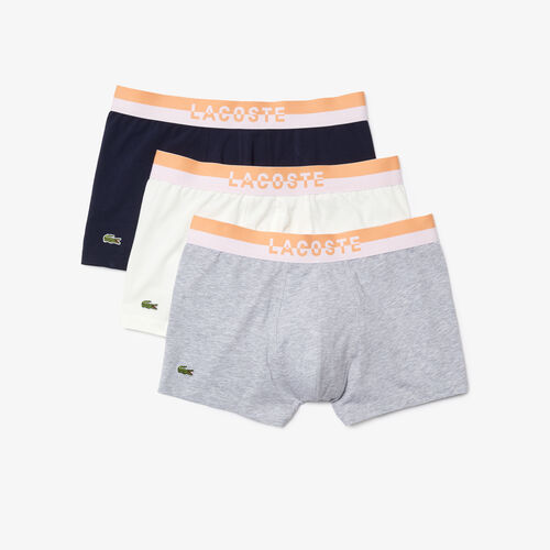 Pack Of 3 Casual Plain-coloured Boxers
