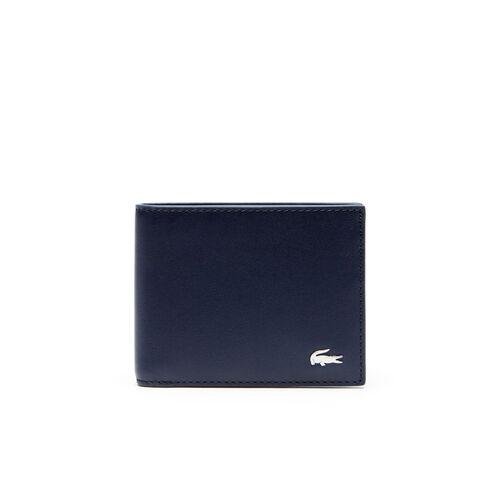 محفظة نقود ورقية من الجلد مع حامل لبطاقة الهوية مجموعة Fitzgerald للرجال