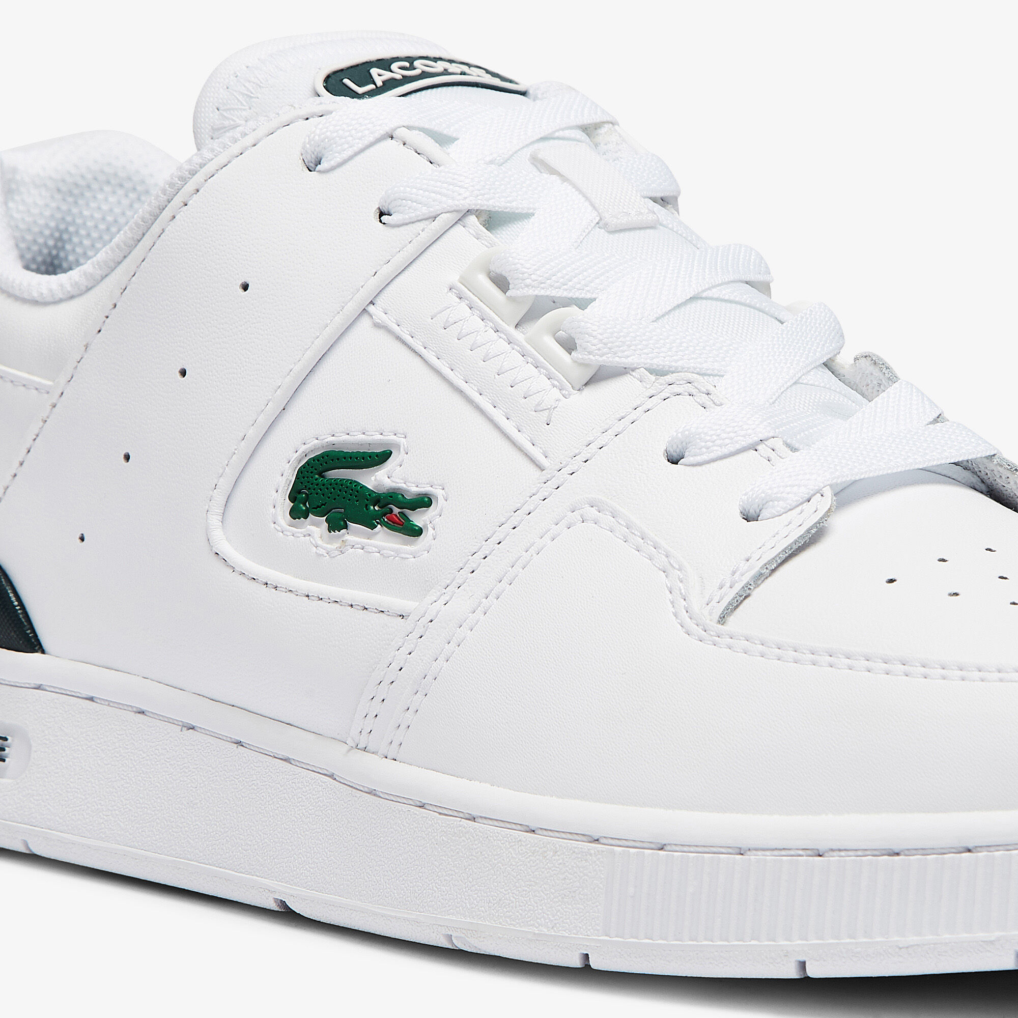 Men's Court Cage Leather Trainers