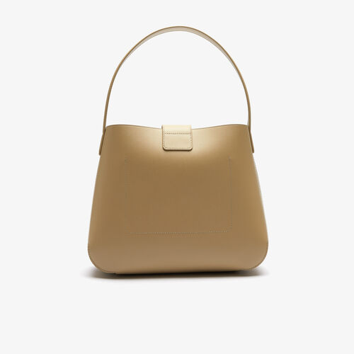 حقيبة يد نسائية جلد Amelia بمشبك معدني