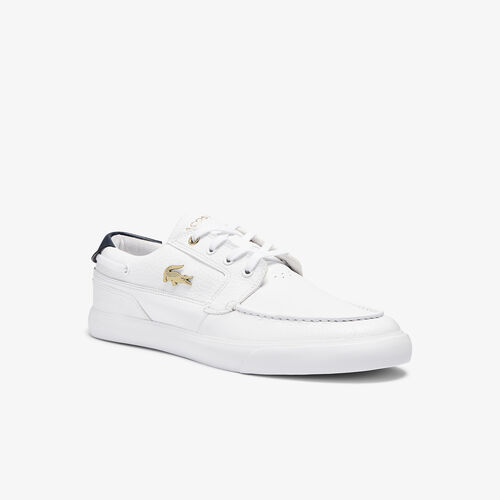Men's Bayliss Deck Leather Trainers